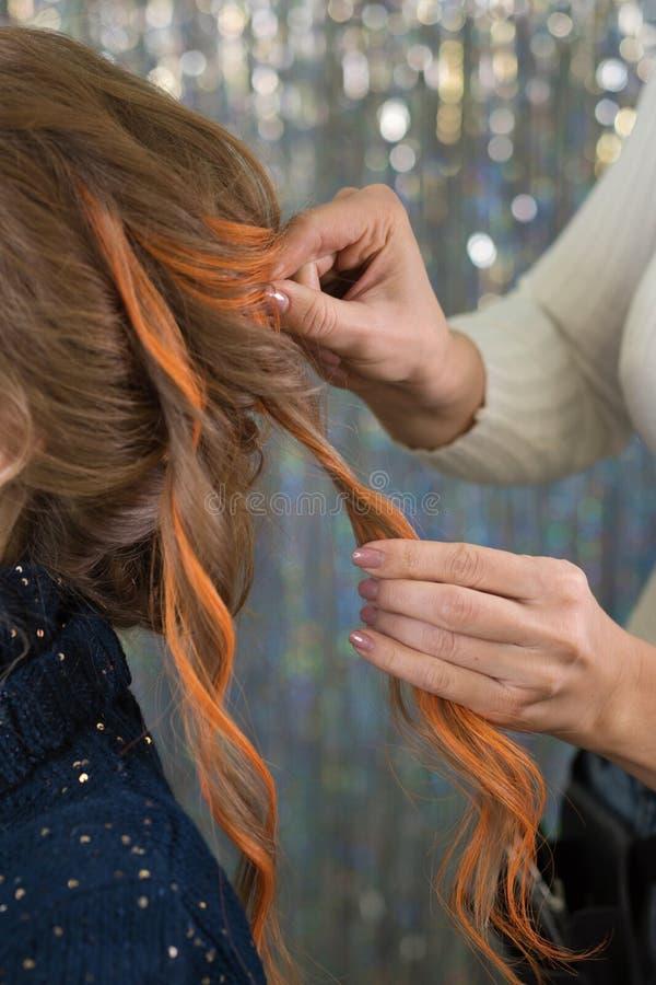 Услуги по парикмахерской стоковая фотография