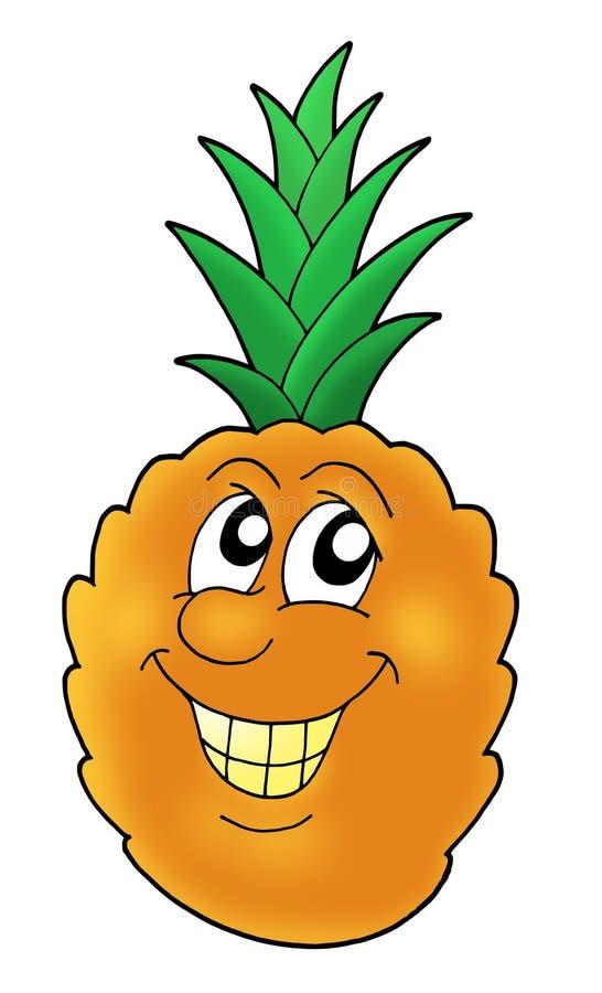 усмехаться ананаса бесплатная иллюстрация