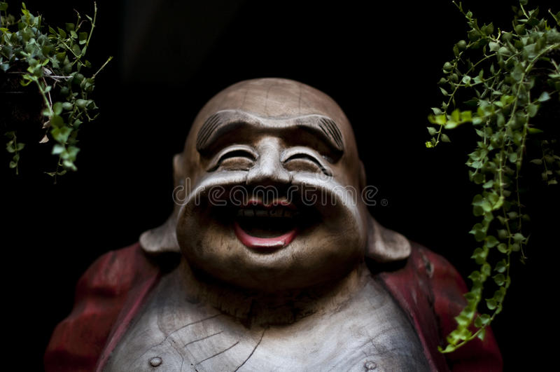 усмехаться Будды стоковая фотография rf