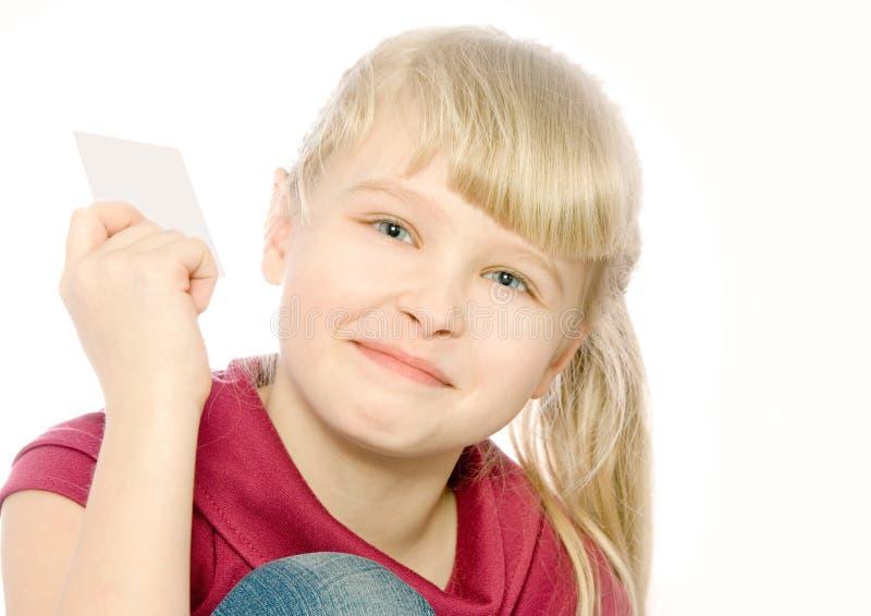 усмехаться выставок девушки карточки стоковые изображения