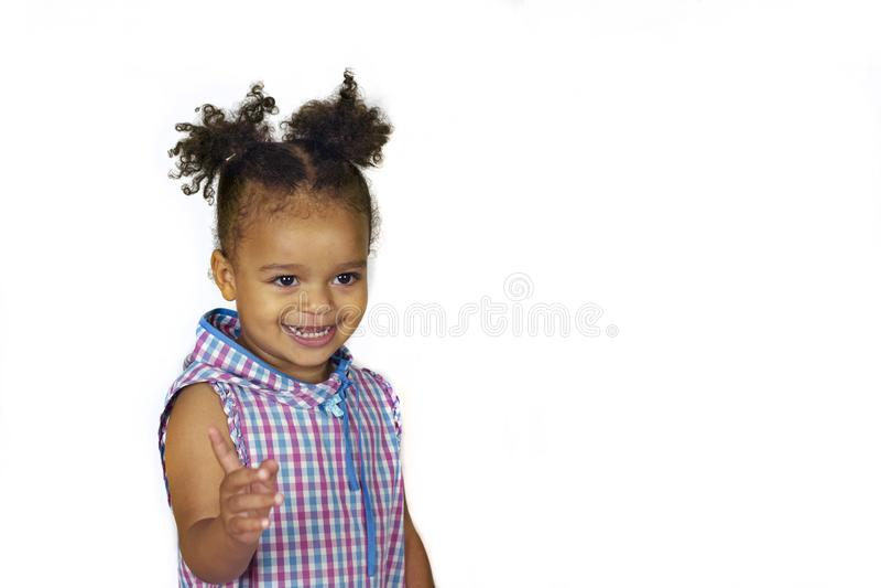 усмехаться красивейшего ребенка стоковое фото rf