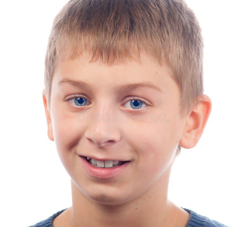 усмехаться мальчика подростковый стоковое фото