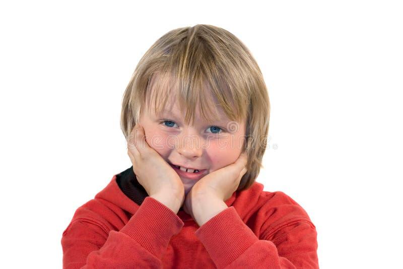 Download усмехаться мальчика стоковое фото. изображение насчитывающей кавказско - 484198