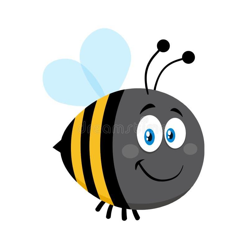 Усмехаться милый путает персонаж из мультфильма пчелы бесплатная иллюстрация