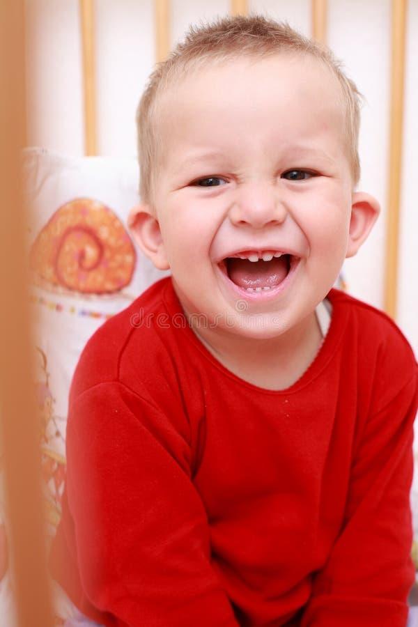 усмехаться младенца стоковое фото