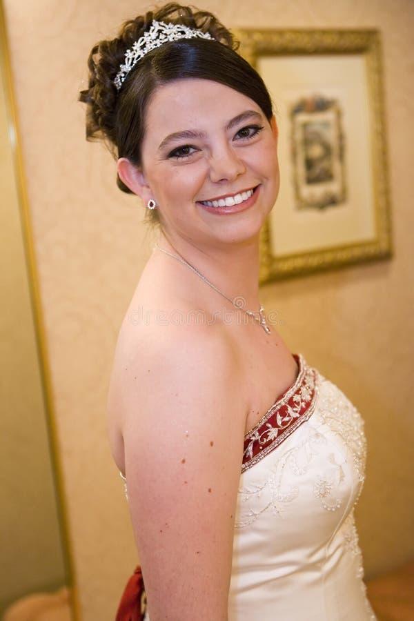 усмехаться невесты Стоковое Фото