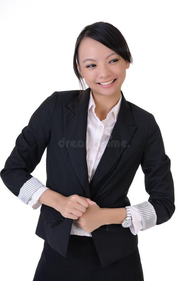 усмехаться повелительницы дела счастливый стоковая фотография rf