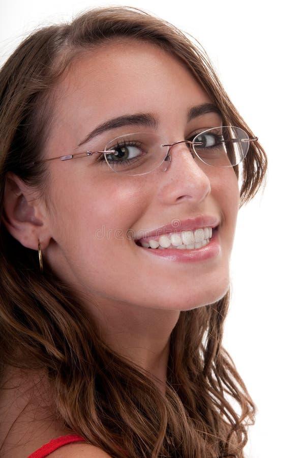 усмехаться предназначенный для подростков стоковые изображения rf