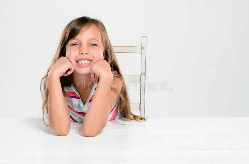 усмехаться ребенка счастливый стоковое фото rf