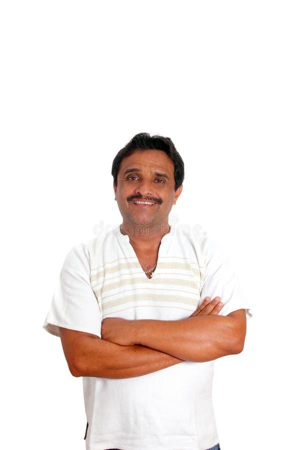 усмехаться рубашки человека майяский мексиканский стоковые фотографии rf