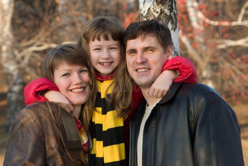 усмехаться семьи стоковое фото