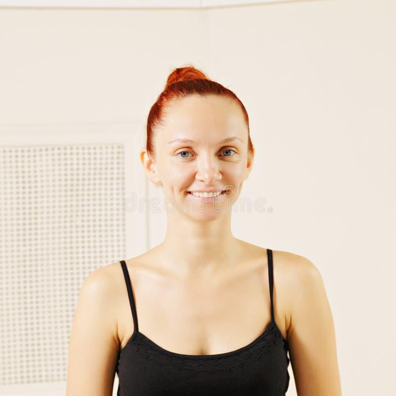 усмехаться redhead стоковые фото