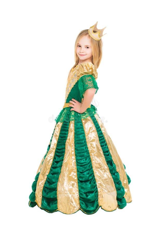 Усмехаясь маленькая девочка стоковое фото rf