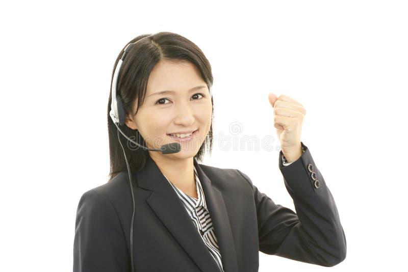 Download . Усмехаясь оператор центра телефонного обслуживания Стоковое Изображение - изображение насчитывающей интернет, дело: 37929591