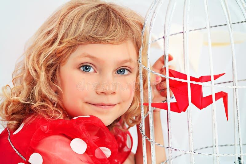 Усмехаясь ребенок стоковая фотография rf