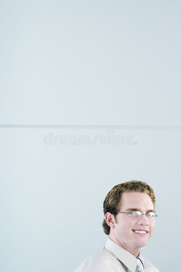 усмешка дела стоковая фотография rf