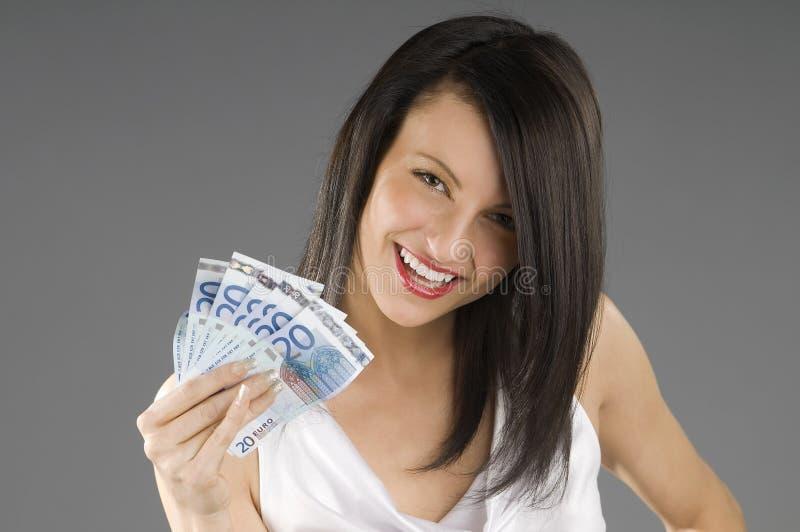 усмешка евро стоковое фото