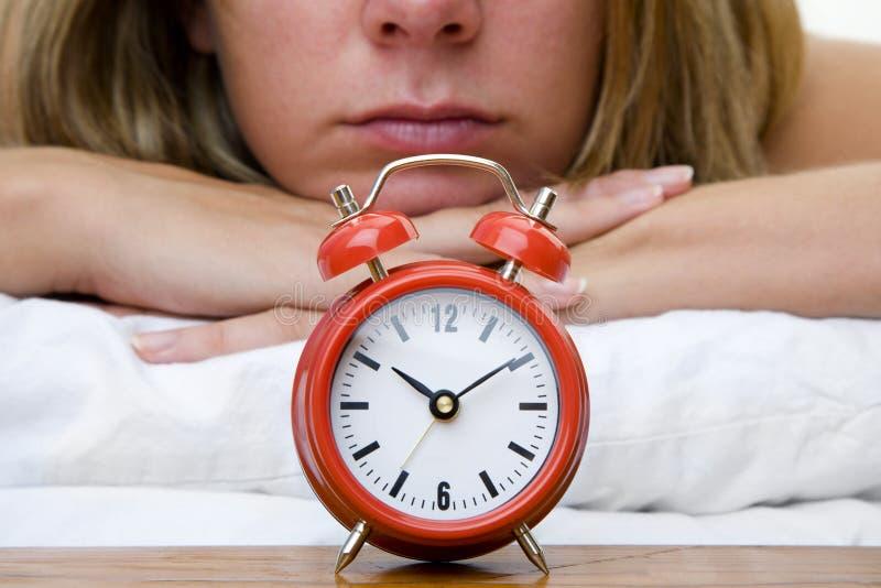 уснувшая женщина стоковые фотографии rf