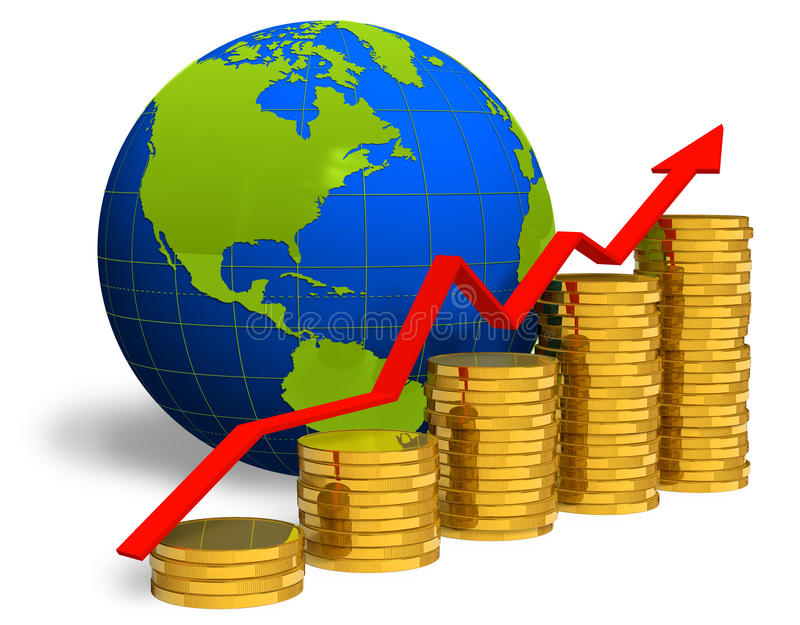успех принципиальной схемы финансовохозяйственный бесплатная иллюстрация
