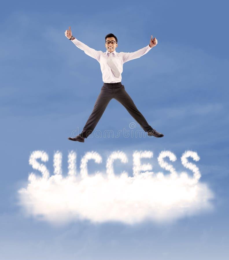 Успешный бизнесмен 1 стоковое фото