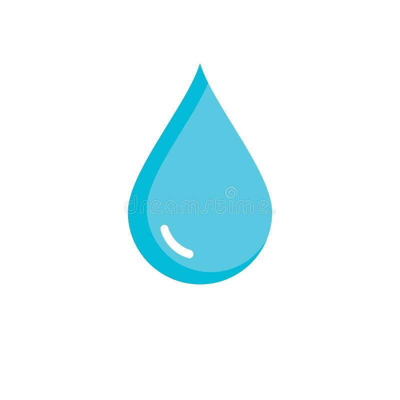 Установите абстрактных символов падений воды бесплатная иллюстрация