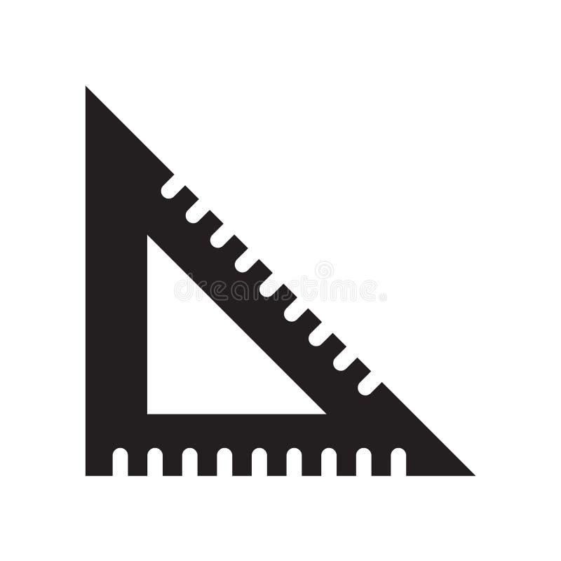 Установите вектор значка квадрата изолированный на белой предпосылке, установите квадрат иллюстрация штока