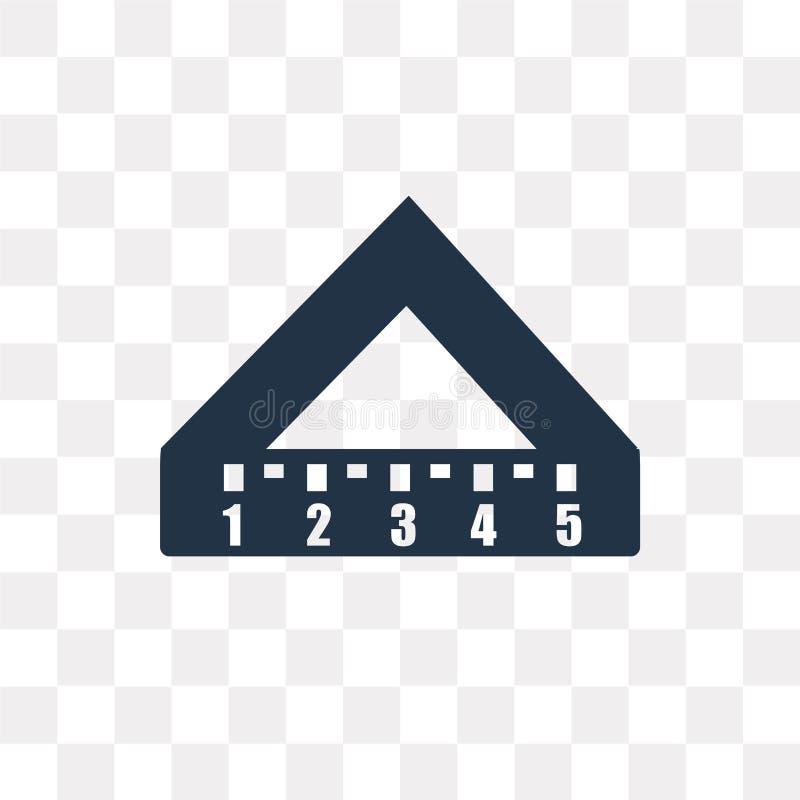 Установите значок вектора квадрата изолированный на прозрачной предпосылке, установите s иллюстрация вектора