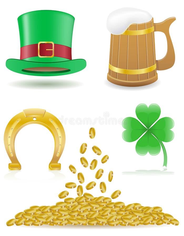 Download Установите иллюстрацию дня ` S St. Patrick значков Иллюстрация штока - иллюстрации насчитывающей concepts, день: 37926174