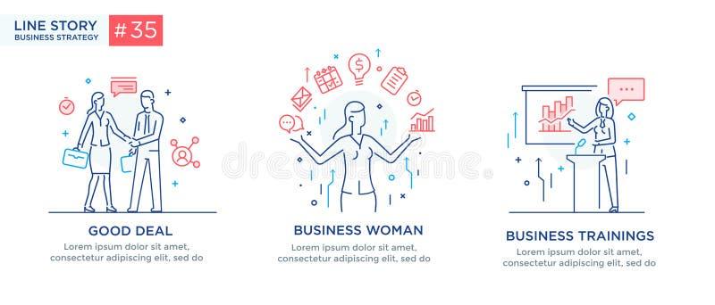 Установите концепции иллюстраций с бизнесменами r Развитие биснеса, основные этапы работ r бесплатная иллюстрация