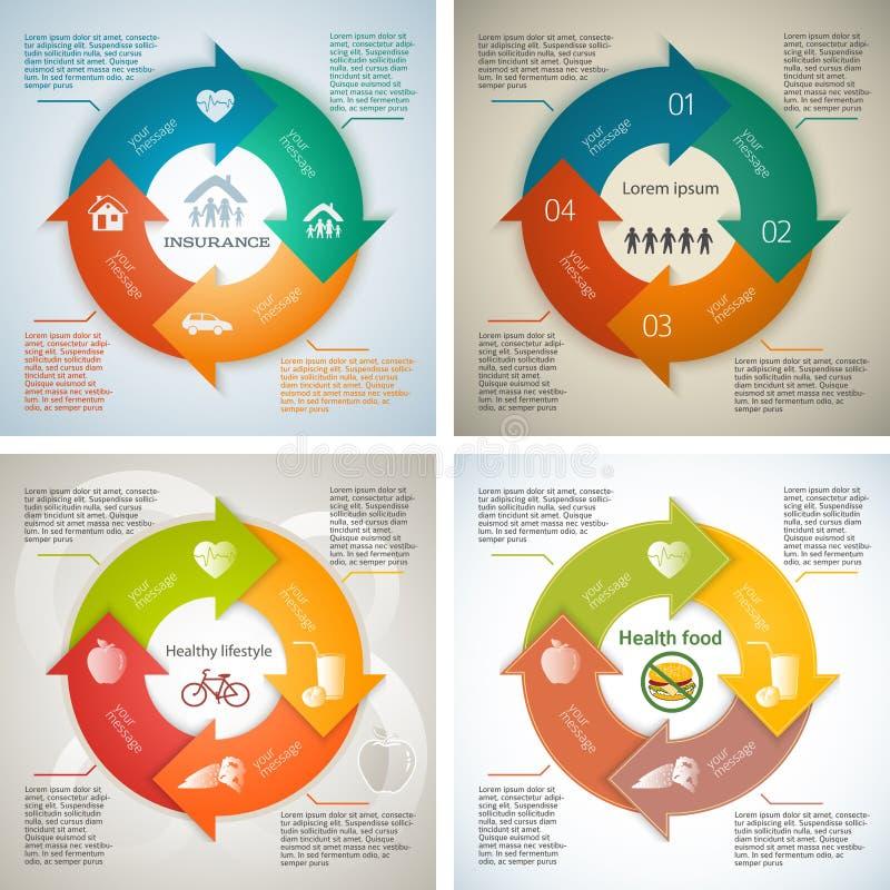 Установите номер страницы шаблона брошюры шагов presentations11