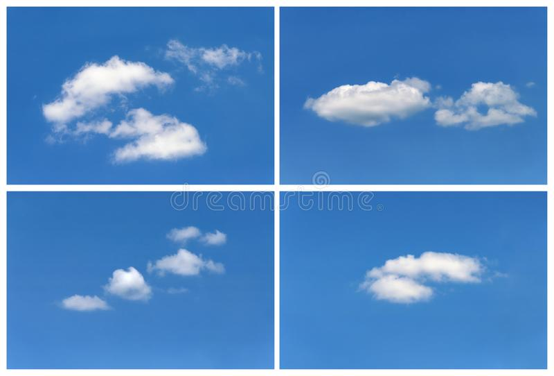Установите облаков стоковые изображения