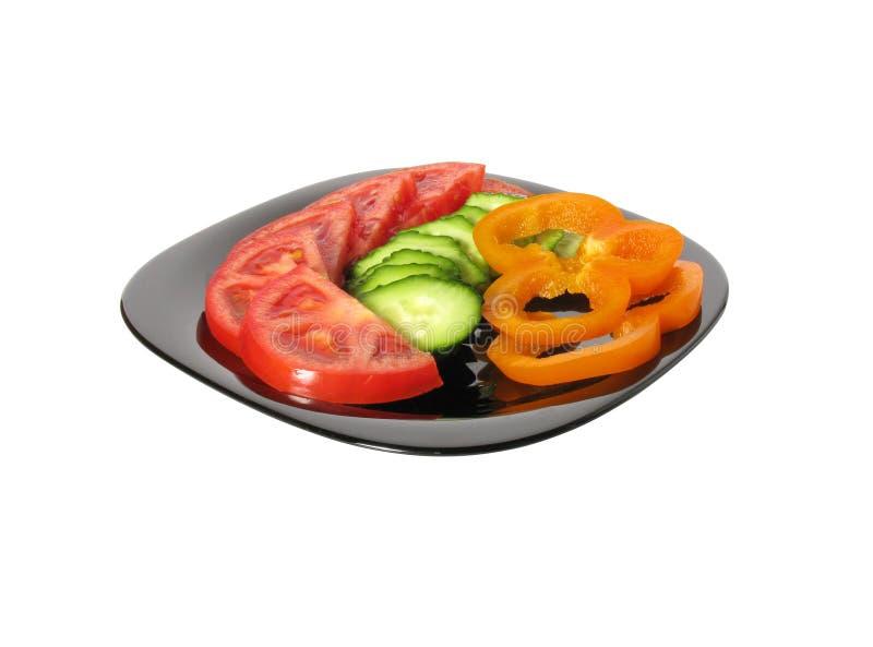 установите овощи стоковая фотография