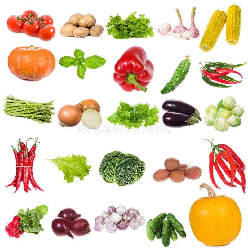 установите овощи стоковые изображения rf