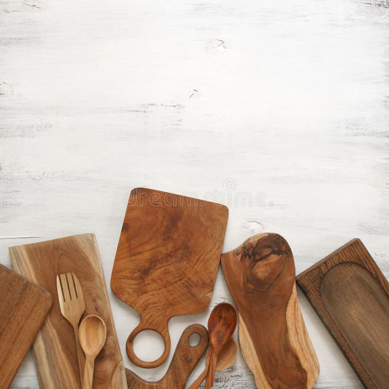 Установите различных утварей кухни стоковые изображения