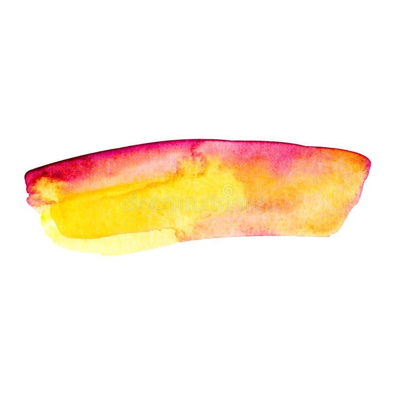 Установите светлого - розовые пастельные акриловые ходы щетки, чувствительные текстуры для логотипа, украшения, приглашения свадь стоковое изображение rf