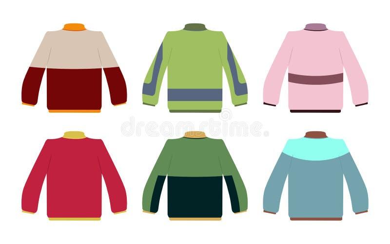 установите свитер бесплатная иллюстрация