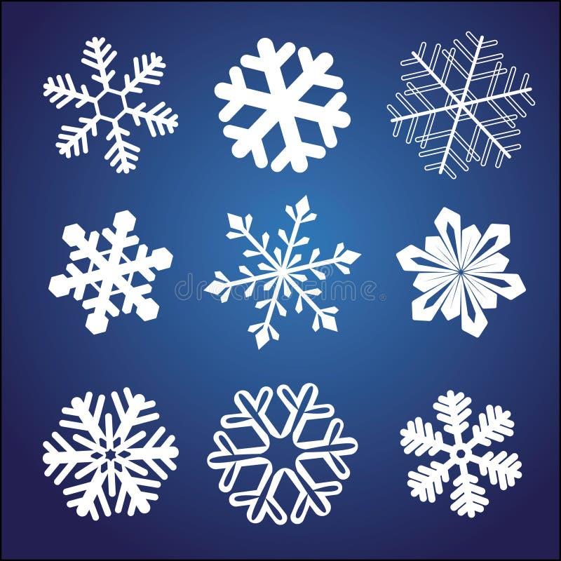 установите снежинку