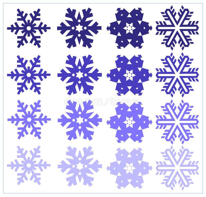 установите снежинку бесплатная иллюстрация