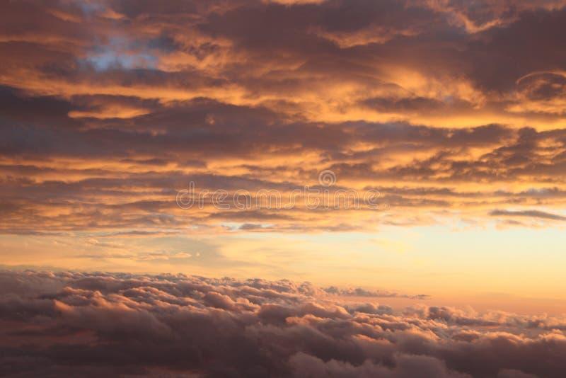 установите солнце неба стоковое изображение