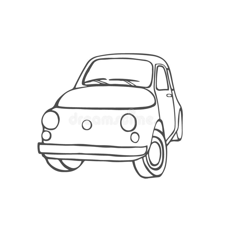 Установите с автомобилями иллюстрация штока
