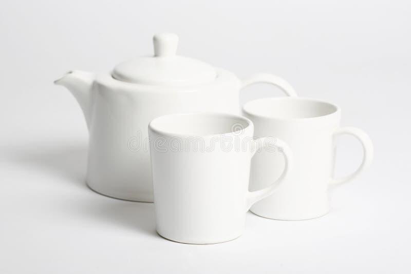 установите чай стоковое изображение rf