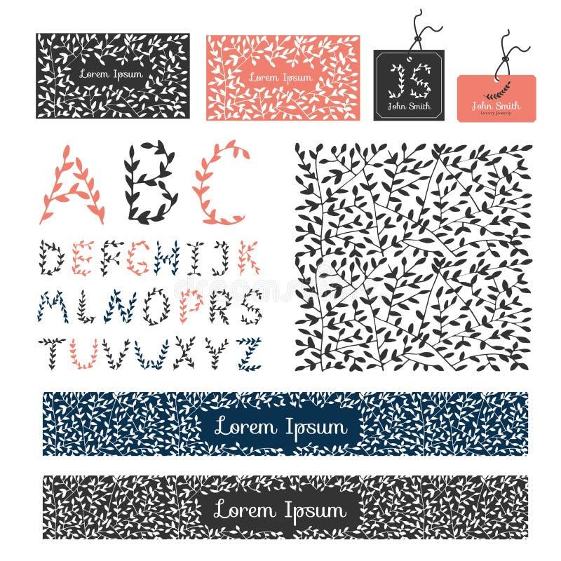 Установите ornam роскошных эффектных демонстраций элементов дизайна каллиграфическое элегантное иллюстрация вектора