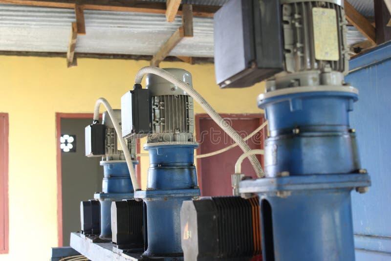 Установка водяной помпы всасывания стоковая фотография rf