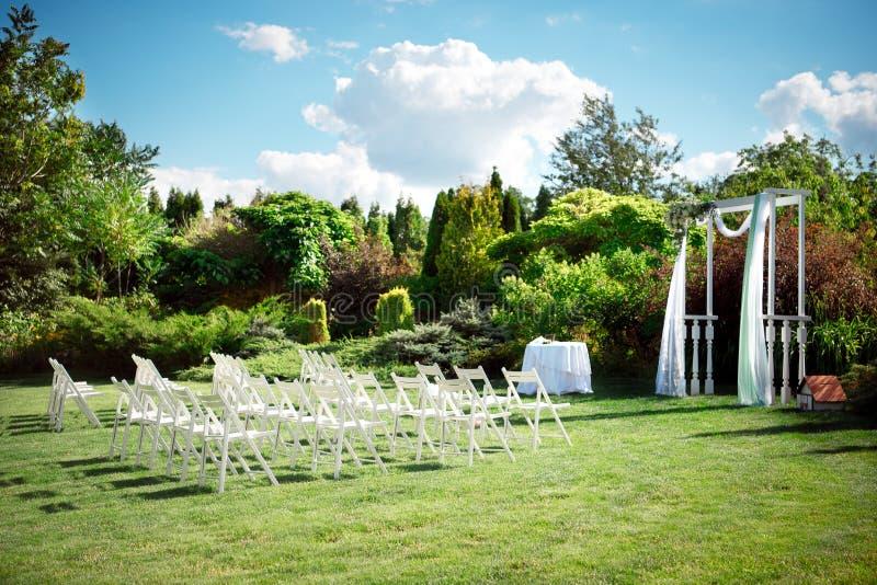 Установка свадьбы стоковые фотографии rf