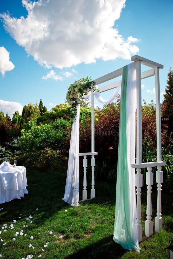 Установка свадьбы стоковые изображения rf