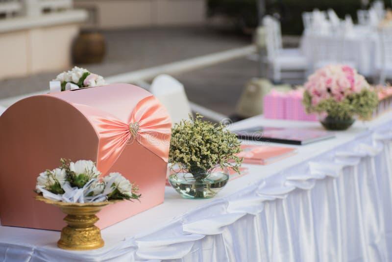 Установка свадьбы стоковое изображение rf
