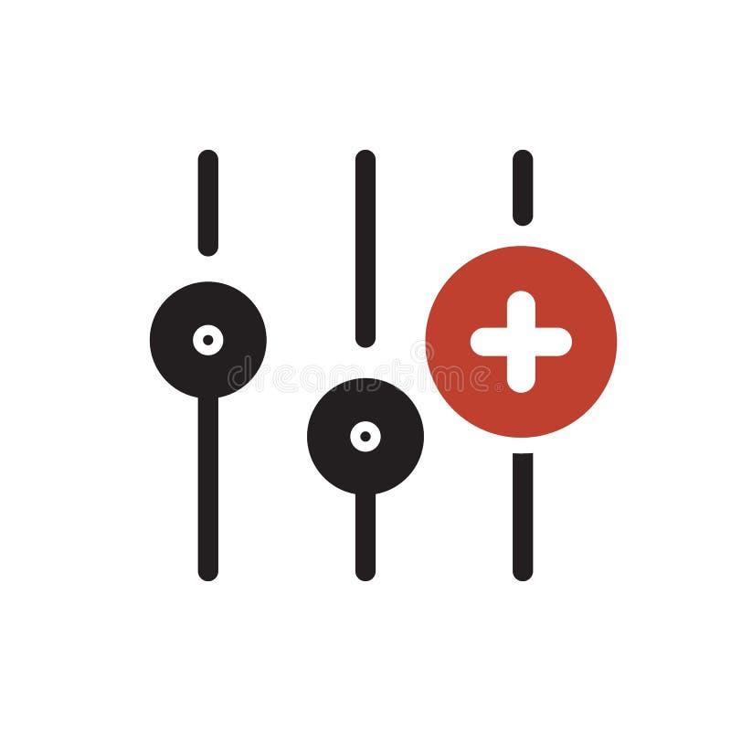 Установки значок, значок мультимедиа с добавляют знак Значок установок и новый, добавочный, положительный символ бесплатная иллюстрация