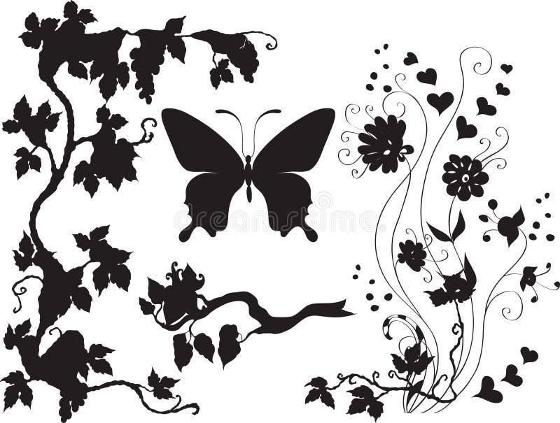 установленные заводы насекомых бесплатная иллюстрация