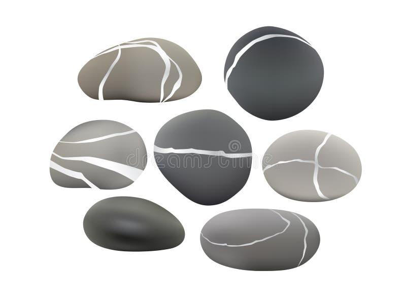 установленные камушки бесплатная иллюстрация