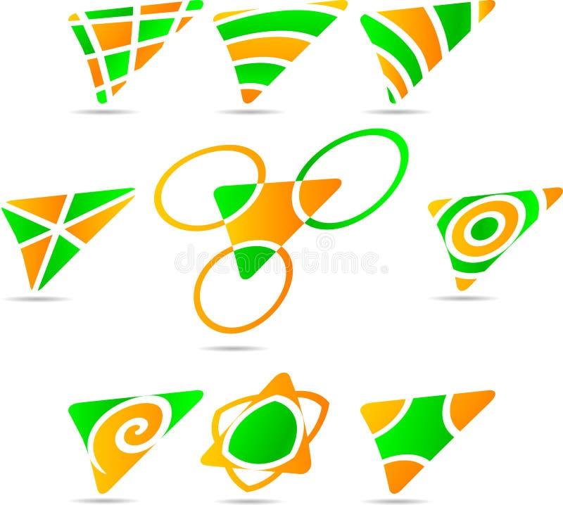 установленные логосы компании бесплатная иллюстрация
